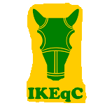 Or, A Chamfron and in base the letters IKEqC vert.